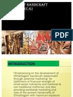 Promotion of Handicraft Department