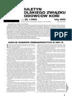 Biuletyn PZHK - Nr 8 (luty 2002)