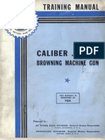 Browning Machine Gun Cal .50 - General Motors Training Service - Training Manual Caliber .50, M2 Browning Machine Gun - 1943