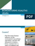 BIOMONITORING KUALITAS UDARA 1