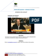 "Deresky_International Management_CH11_Motivating and Leading_Reward Systems_""Working for Google"""