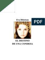 Ibbotson, Eva - El Destino de Una Condesa