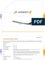 Jet Airways Factsheet