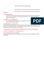 Criticisms of Positive Accounting Theory