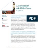 Philip Cohen Interview