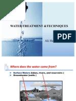 Water Treatment & Methods