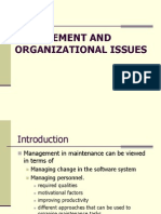 9. SM-Management and Organisational Issues