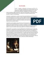 Archimède Biographie
