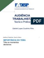 CASO HOMEM MODERNO 05 - AUDIÊNCIA