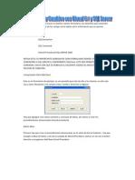 Altas Bajas Modificaciones Visual C# y SQL SERVER