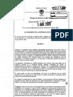Decreto 1143 2009 sobre vivienda