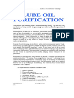 Lube Oil Purification
