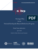 Strategic Plan for the National Earthquake Hazards Reduction Program – FY 2008-2012