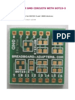 Circuit adapter for SMD devices