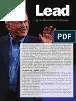 Lead - Ken Blanchard