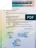 Surat Undangan Ketua Komisariat