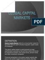 International Capital Markets - Ankur