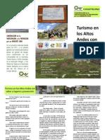 Turismo en los Altos Andes venezolanos con sabor a ingenio y prevención