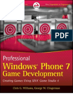 Wrox - Professional Windows Phone 7 Game Development