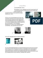 (6) Odontomes & Odontogenic Tumours (Lab)