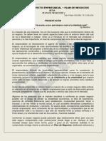 -Plan de Negocios- Juan Felipe G- Tutor- Sem 2