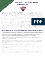 Reglamento Oficial DSFC Latino - Brasil 2012