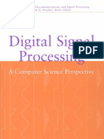 Digital Signal Processing a Computer Science Perspective