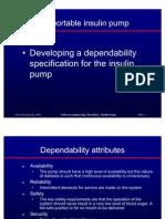 Insulin Pump Depend Spec