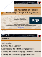 Mobile Robot Navigation on Partially Known Maps Usign the a Star Algorithm-muntean Paul