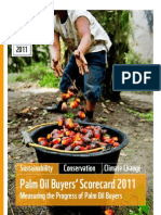 THE 2011 PALM OIL SCORECARD