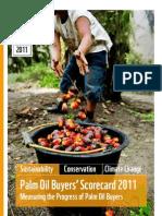 THE 2011 PALM OIL SCORECARD
