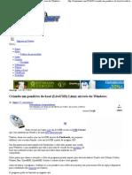 Criando um pendrive de boot (LiveUSB) Linux através do Windows _
