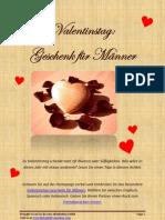 Valentinstag Geschenk für Männer