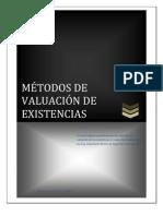 MEtodos de Valuacion NIC 2 Existencias
