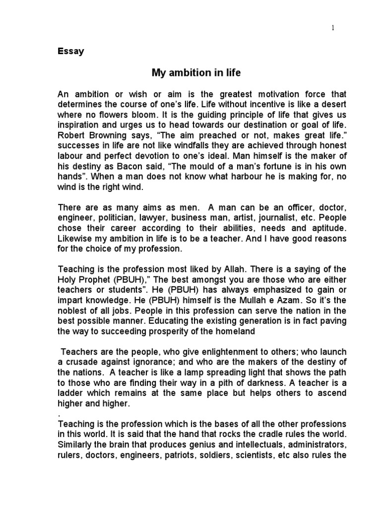 essay my ambition in life essay essay my favorite book sample  ambition in life essay ambition definition essay essay on my ambition in life to ambition definition