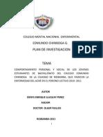 Plan de Investigaci