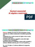 Analisi.dati.2007.1.Algebra Matriciale