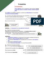 probabilités (2nde)