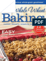 Whole Wheat Baking Cookbook