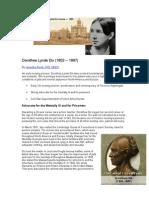 Dorothea Lynde Dix Article