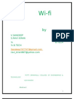 Wireless Communication With Wi Fi Sree Venkata College o