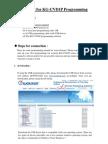 KG-UVD1P Programming Manual