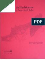 MORADA DE HECHICEROS Antología de Poetas de El Tabo,Taller 2011