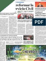 Jubilados y Pensionados-Rechazan Reformar la La Ley del Servicio Civil.