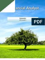 Financial Analyst CFA Study Notes: Economics Level 1