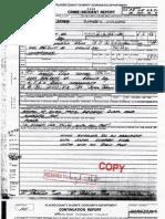 LLOYD VASSELL - ASSAULT/BATTERY - PLACER CRIME REPORT 5-2-1993