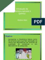 Estatística aplicada à Química (aula)