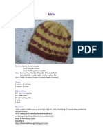 Microsoft Word - Final Mew Pattern v.1.1