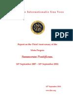 00AA FIUV Dossier ForFIUV Members SP Third Anniv Pts 1,2,4,5 Nov 2010-1