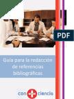 Como redactar referencias bibliograficas